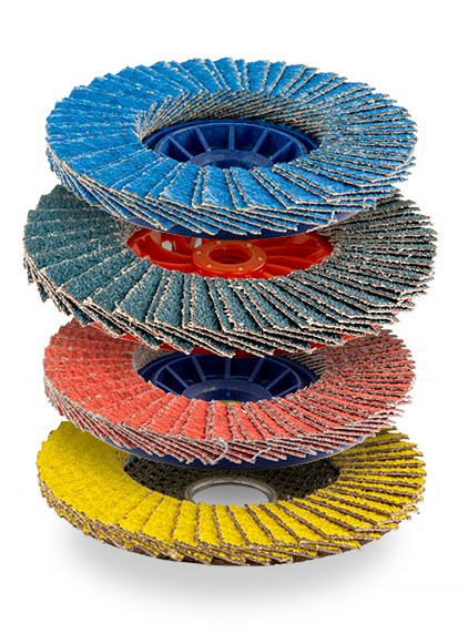 Customizable flap discs ICOMEC Italy