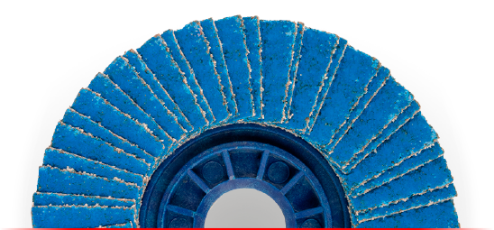 zirconium oxide flap discs ICOMEC Italy