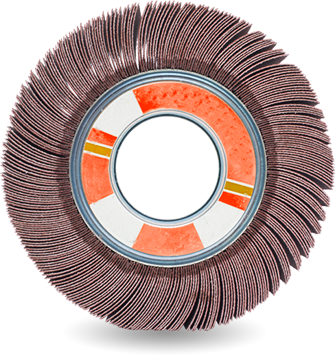 Abra plus dischi e ruote di finitura abrasivi - ICOMEC